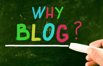 Five business benefits of blogging